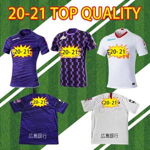 Nouveau 20 21 J. League Sanfrecce Hiroshima Soccer Jerseys 2020 2021 Violet Blanc Home Away # 12 Playey Soccer Shirt De Football Sale