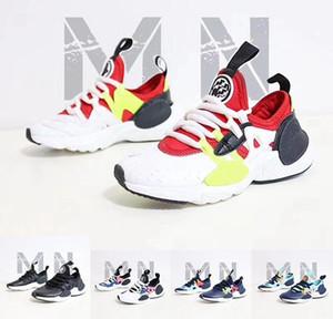 Младенец Huarache E .D .G .E .BP кроссовки Спорт Открытый Детский тренер мальчиков Дети обуви Стиль жизни малышей Huarache Sneaker с л