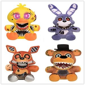 A001 kids toys stuffed plush toy Five Nights at Freddy for baby holiday toy gifts 18cm