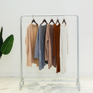 Clothes rack clothing store display Shelf women's children's rack floor clothes wedding dress spot clothes airing Shelf