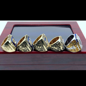 2021 al por mayor 5pcs anillo 1962 1984 1988 1990 2019 Winnipeg Blue Bombers Gray Cup Championship Rings Tideholiday regalos para amigos