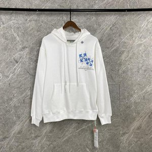 2020AW OFF Herbst und Winter WHITE OW Druck lose beiläufige Sport Rundhals Hoodie Männer und Frauen Langarm-Sweatshirts 092606-03 + 0 + 2 + 3