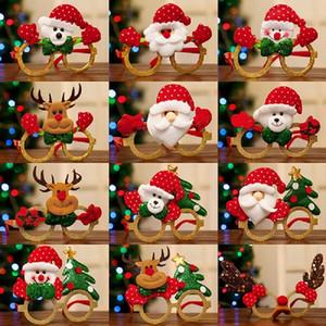 DHL Бесплатная доставка Рождество очки взрослые дети одеваются реквизита Торгово-развлекательный центр деятельности небольшие подарки рождественские украшения партии кулон г