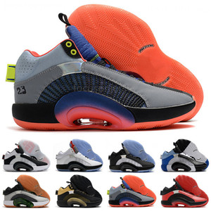 Zoom Men Basketball Shoes 35s Eclipse Plate 2.0 Center Of Gravity Fragment Design jumpman 35 mens scarpe sports sneakers size us7-12