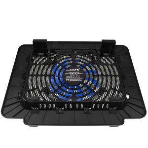 Охлаждают холодной Laptop Cooling Pad Ноутбук вентилятор Cooler для 14 '' Notebook computerLaptop Black