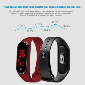 Temperatur V8 Körpermess Smart Watch Armband für Männer Frauen Kinder Tracker Elektronik-Armband-freies Verschiffen