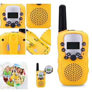 1 Pcs Set Children Toys 22 Channel Walkie Talkies Two Way Radio UHF Long Range Handheld Transceiver Kids Gift M09.ll
