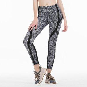 Yeni Popüler Eklenmiş-yoga Pantolon Yüksek belli Kadın Spor Salonları Sıkı Pantolon Stretch Spor Lady Tüm Külotlu çorap Egzersiz Yoga Run Wear