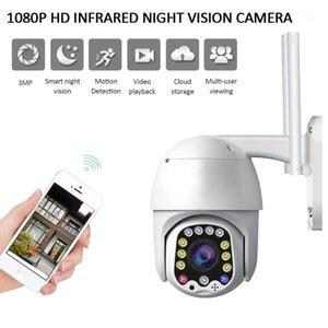 Caméras 1080P PTZ Caméra IP PTZ Etanchéo-étanche 320 Rotation Machine à billes IR Network CCTV Surveillance pour 11Pro Max1