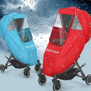 Kids Pram Raincover Universal Baby Stroller Rain Cover Breathable Warm Pushchairs Raincoat Waterproof Dust Shield with Windows1