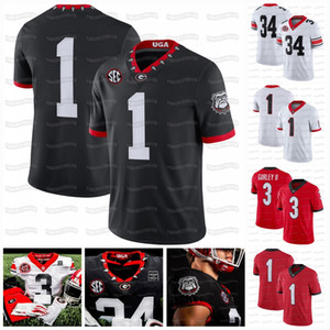 George Pickens 2020 Georgia Bulldogs 40. 1980 Gurley II Herschel Walker Zamir Weiß Washington Koch Ladd D'Wan Mathis NCAA Football Jersey