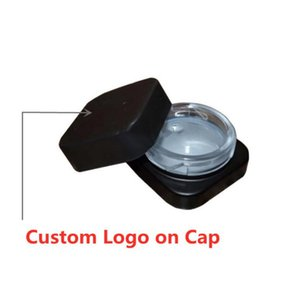 Chaud Cube Contenants 5ml Pors de DAB Cube carré Jar Verre Norme de Nourriture pour extrait Cire Cire Cire Vapeur Populaire Vaporisateur Boîte