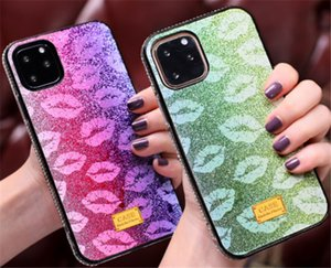 Bling Glitter Shining Flash Powder case Hard Phone Back cover Capa Sequins Fundas Epoxy Crystal Cover For Phone Case