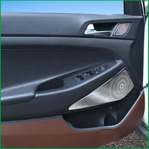 peinar altavoz de la puerta del coche Anillo de ajuste de la cubierta de audio de coche para Tucson 2020 2020 altavoz cubre las piezas interiores