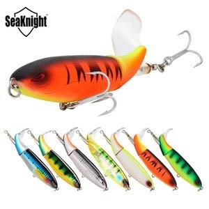 SeaKnight Topwater Fishing Lure 13g 90mm 19g 110mm 39g 130mm 5PCS Lot Fishing Lure Hard Bait Sharp Hooks Bass Jig Sea Fishing 201031