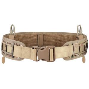 Ceinture tactique pour les forces sportives de plein air chasse la ceinture multifonctionnelle de la ceinture respirante respirante Soldat CS