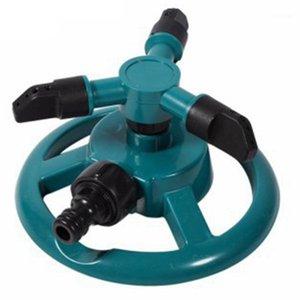 Поливное оборудование Садовые спринклеры Вода Прочный ротационный Три сопла труба спринклер 360 градусов автоматический вращающийся спринклер1