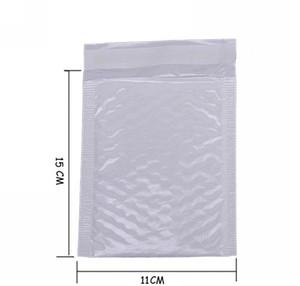 메일 링 10x 버블 봉투 Bubbel 11 * 15 Bulle Kawaii 메일러 영화 배송 봉투 방수 펄 가방 도매 - Padde jllee와 흰색