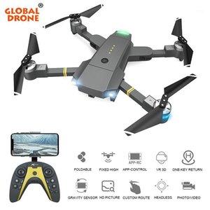 Globale Drohne FPV RC-Drohnen mit HD-Kamera einstellbar Servo-Gimbal-FPV Folgen Sie mir, fundamental Quadcopter Dron DRONE X Pro1