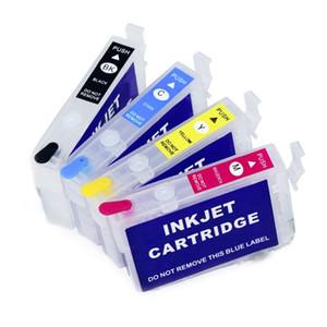 2 ensembles / lot.empty, cartouche d'encre rechargeable T212 T212XL T212XL pour Epson WF2850 / 2830; XP-4100/4105 imprimante, sans puce