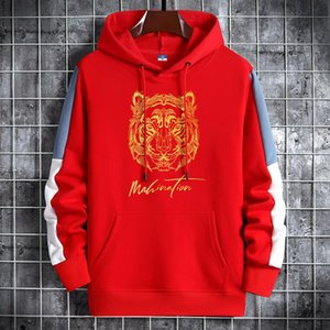 fashion Tiger Head Sweater Designer Sweatshirts Pullover Jumpers Unisex Shirts Casual Streetwear High Quality Hooded Hoodies S-5XL 10 Colors