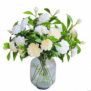 INS Single Camellia Искусственный цветок гардении Nordic Ветер Поддельный цветок Домашнее украшение интерьера стрелялки Реквизит ruWb #