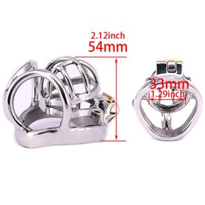 Pee Size Male Cock For Easy To Cage Cage For Steel 3 Chastity Devices Adults Menjouets Sexuelstoys Stainless Chastity Fseqg