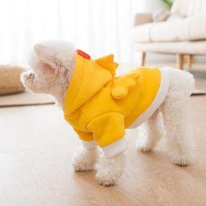 Новые Новый Симпатичный Одежда для собак Толстовки Толстовка Chicken косплей ткань Малого собак Puppy Coat Pet Одежда для Cat Перро Гатос