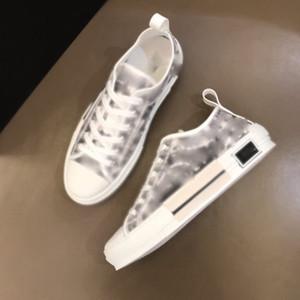leurs Technique Toile B2-3 Baskets High Top à Oblique Mens Marque Design Chaussures Femme Fashion Sneakers 01