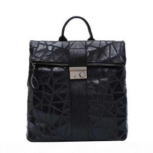 Favorite Black Bag Women Backpack School Bag Backpack Bags Fashion Lady Computer Bag Pu Leather Handbag