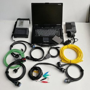 MB Star Diagnosis Compact5 SD C5 Software SSD 2020.09v for B-MW ICOM A2 B C 2IN1 Super Installed CF-52 Laptop Used Computer Full