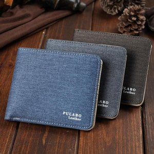 Purse Card Pockets Wallet Man Fashion New Male1 Small Designed Male Wallets Zipper Multi Canvas For Holders Dhdit