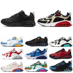 2020 hommes 200 Chaussures de course Femmes Teal Bordeaux Brillant Université Crimson Rouge 200s Mens Hommes Triple Noir Sneakers Entraîneurs Sneakers Sports Sports Sports