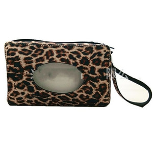Детские тканевые чехол неопреновые путешествия влажные салфетки ящики подсолнечника леопард печатание снежинки стили бумажный полотенце сумка для подвешивания стены прочный 8 5sx e1