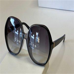 718 gafas de sol de las señoras señoras de la moda premium capítulo de la placa marco rectangular multicolor UV400 Len verano estilo preferido de la cara Caja de lente Con