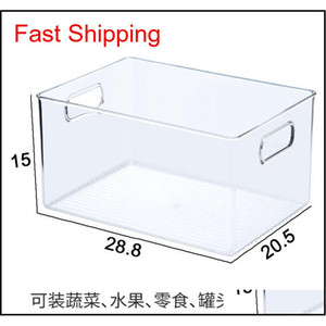 20191004 Refrigerator Receiving Box Preservation Box Kitchen Storage Box Foo qylYZj packing2010