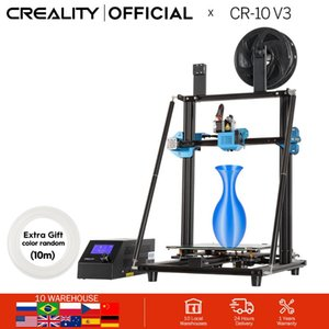 CREALITY 3D CR-10 V3 Printer Size 300*300*400mm,TMC2208 Silent Mainboard Resume Printing,BL touch Optional(Not pre-installed)