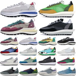 sacai ldv waffle ldv blazer ld vaporwaffle waffle running shoes daybreak outdoor uomo donna scarpe chunky dunky triple black designer mens womens trainers sneakers sportive