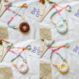 Axjfq New Fashion Handbag Dener Rivet Bag Golden Lady Dating Dating Black Valentine Children Bambini Borse Day Borse PU Small Bowboag Donuts