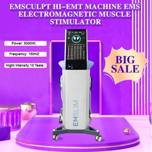 2020 última máquina EMslim ems HI-EMT esculpir ccsme Muscle electromagnética Estimulación grasa conformación quema equipo hiemt belleza (LOGO QEM)