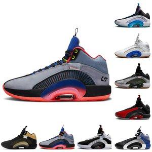 nike air jordan retro Jumpman 35 35s zapatillas de baloncesto para hombre Center of Gravity Warrior Bayou Boys zapatillas deportivas para hombre