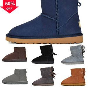 women Classic snow ug woman snow boot australia boots Australia triple black brown mini chestnut ankle navy blue boot red fashion classic pi