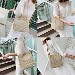 Woman Shoulder Bags And Handbags Bohemia Rattan Bag Woven Pochette Femme Crossbody Summer Beach Bags Female Handbags