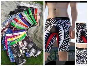 Color aleatorio Ethika Mens Boxer Shorts Sexy Botpants Young Soft Cómodo Elástico Famosas Pantalones Pantalones de playa Secado rápido Ropa interior para hombres 115c #