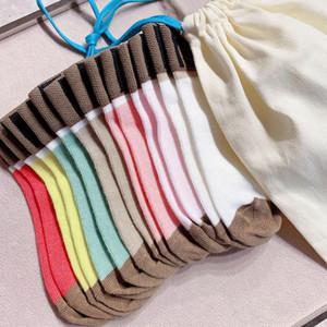 Новые осенние детские шерстяные носки 7 шт. / Лот зимние дети плетение образцов носки для мальчиков девочек детские носки