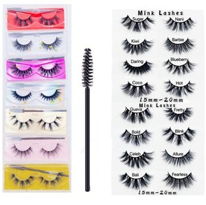 Top Quality Free Shipping EPacket New Arrival Fluffy Eyelashes 5D 15mm Mink 20mm Lengthen Bushy Lashes Soft Natural Thick Fake Eyelashes!