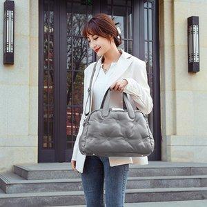 2021 роскошная высокая емкость космическая сумка осенью и зимнее плечо через плечо сумки высокого качества PU мода Trend Travel сумки