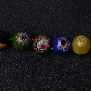 3PCS / Lot Millefiori vetro MURANO rotonda collana CALDO Beads
