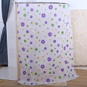 New Design Fabric Starfish Shower Curtain Waterproof Water Repellent Antibacterial Bathroom Products Fast Shipping 180x200CM