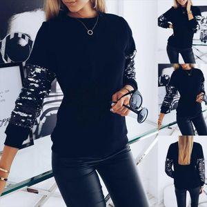 Hoodies Women 2020 Autumn Sequins Women Hoodies Sweatshirt Long Sleeve Top Warm Winter Jacket Tracksuit